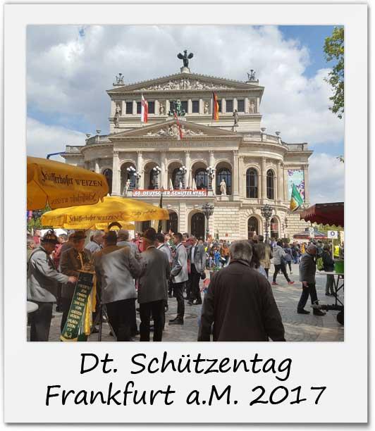 Deutscher Schützentag Frankfurt a.M. 2017
