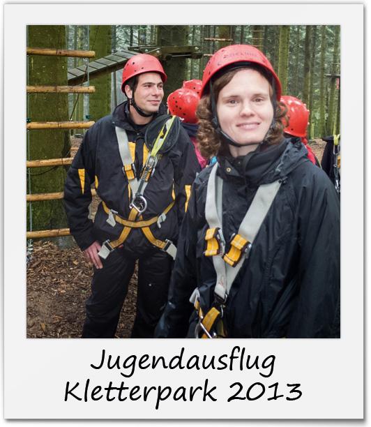 Jugendausflug Kletterpark 2013