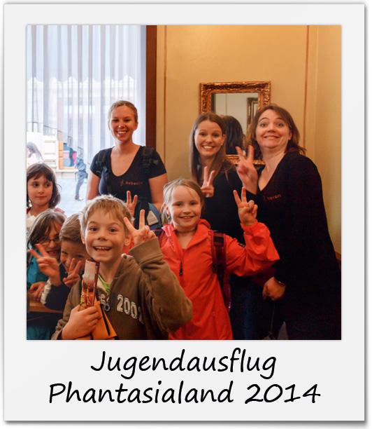 Jugendausflug Phantasialand 2014