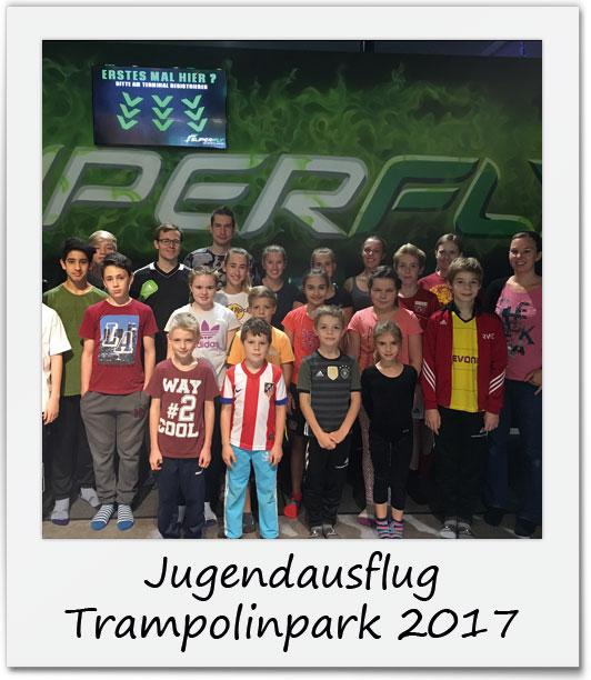 Jugendausflug Trampolinpark 2017
